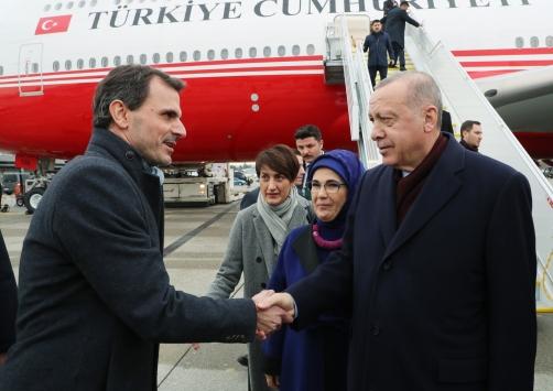 Cumhurbaşkanı Erdoğan, İsviçrede