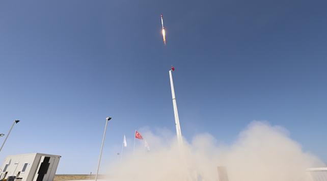 Türkiyenin uzaya gönderilecek ilk roketi bu yaz fırlatılacak