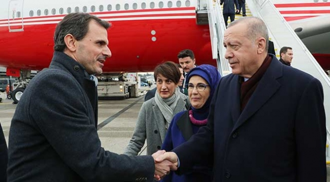 Cumhurbaşkanı Erdoğan İsviçrede
