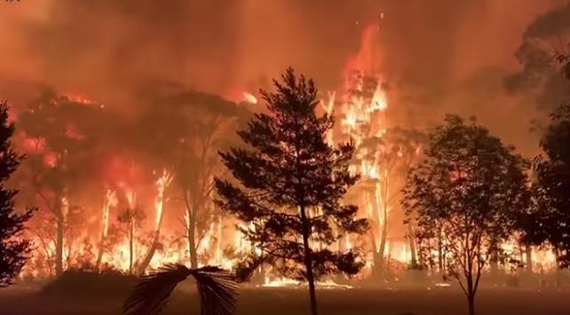 Avustralyada bilanço ağırlaşıyor: 744 ev yandı