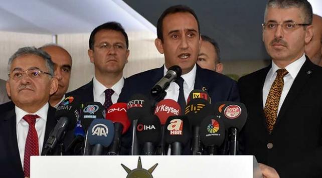Kayseride İncesu Belediye Başkanı İyi Partiden AK Partiye geçti