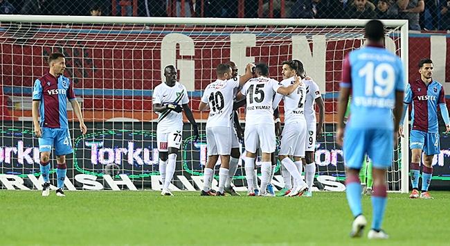 Rodallega Trabzonsporu yıktı