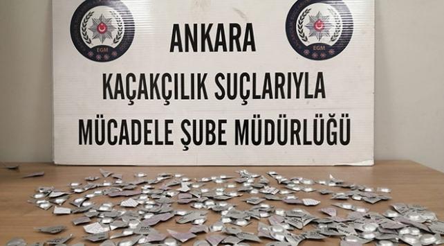 """Başkent polisinden """"ölüm hapı"""" operasyonu"""