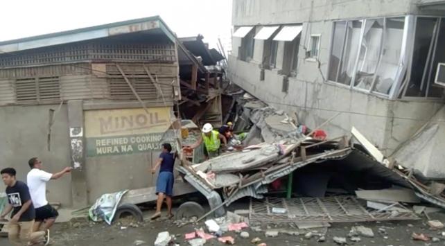 Filipinlerdeki depremde ölü sayısı 7ye yükseldi