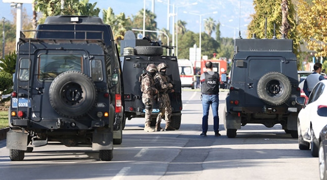 Antalyada silahlı soygun girişimi