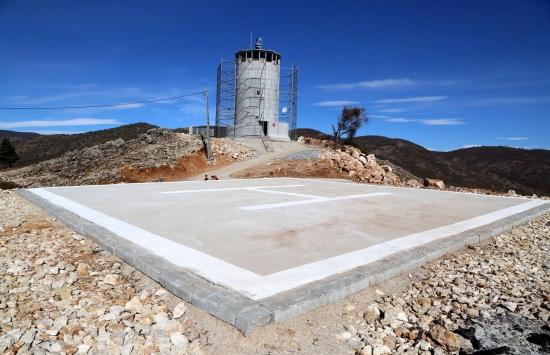 """Tuncelide """"güvenlik kuleleri"""" Mehmetçiğin gücüne güç katıyor"""