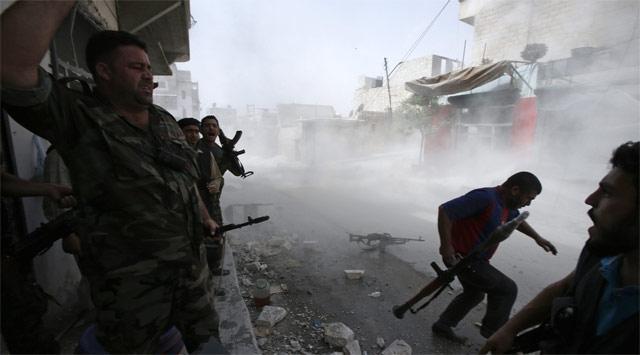 Suriyede Camide Patlama: 5 Ölü