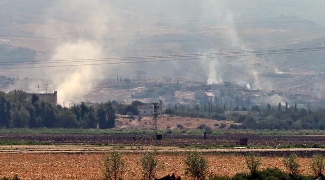 Suriyedeki Çatışmalar Türkiye Sınırına Dayandı