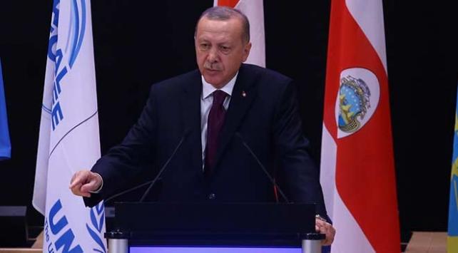 Cumhurbaşkanı Erdoğan: Mülteci meselesi birkaç ülkenin çabasıyla önlenemez