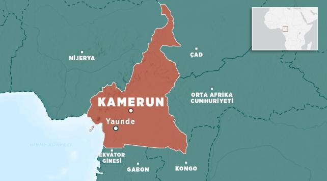 Kamerunlulardan gençlerini ordusuna katmak isteyen Fransaya tepki