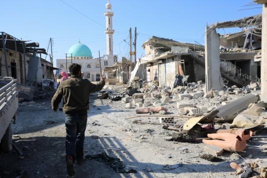 Esed rejiminden İdlibe hava ve kara saldırıları: 12 ölü