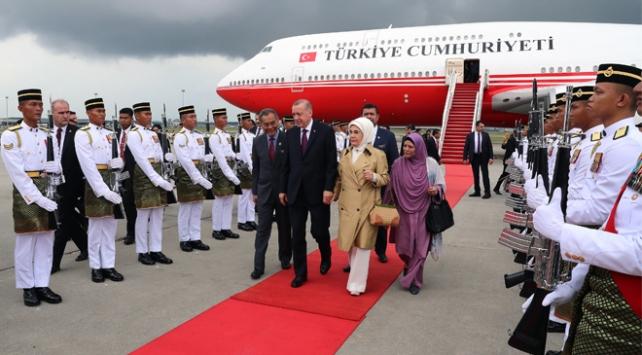 Cumhurbaşkanı Recep Tayyip Erdoğan Malezyada