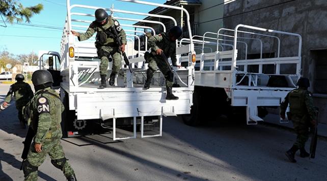 Meksikada silahlı çatışma: 8 ölü