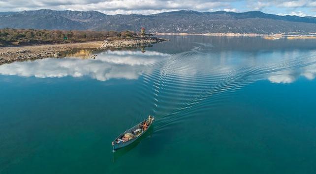 Beyşehir Gölünde kuraklık tehlikesi