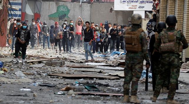 Irakta 74 gösterici daha serbest bırakıldı