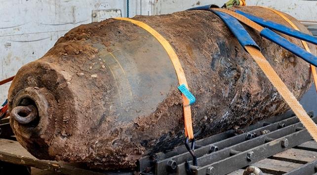 Almanyada İkinci Dünya Savaşından kalma bomba bulundu