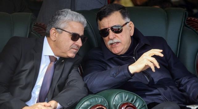 Libya Başbakanı Serrac, İçişleri Bakanıyla güvenlik toplantısı yaptı