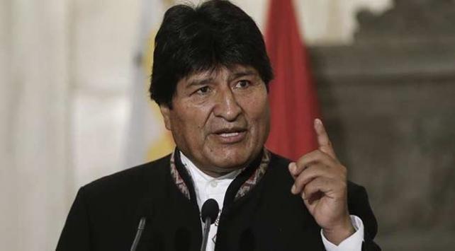 Moralesten Trumpa: Geçici hükümeti desteklemesi darbeyi yaptığının kanıtırıd