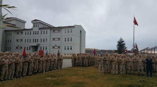 Kıran-8 operasyonuna katılacak Mehmetçik dualarla uğurlandı