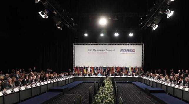 Avrupa Güvenlik ve İşbirliği Teşkilatında Türkiyeye yeni görev