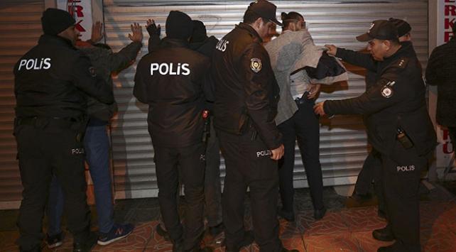 Ankarada eğlence mekanlarına denetim: 96 gözaltı