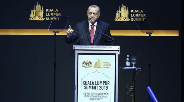 Cumhurbaşkanı Erdoğan: İslam dünyası güçsüz, zayıf ve asla çaresiz değildir