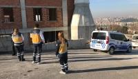 Bursa'da cami inşaatından düşen işçi öldü