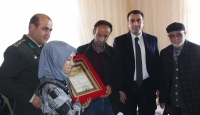 Şehit Fındık'ın ailesine şehadet belgesi verildi
