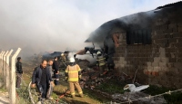 İzmir'de mobilya tesisinde yangın