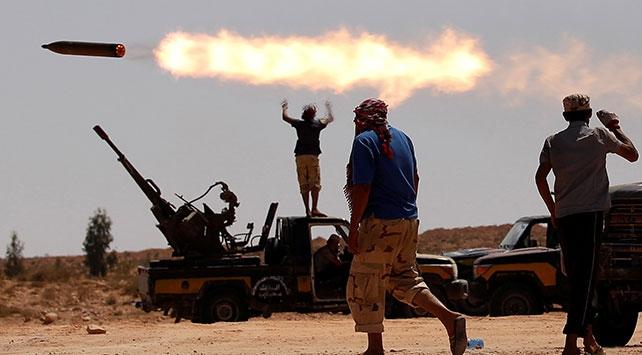 Libyada UMH güçleri Trablusu Hafter milislerine karşı savunuyor