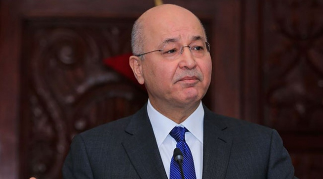Irakta Cumhurbaşkanı Salihin drone ile tehdit edildiği iddiası