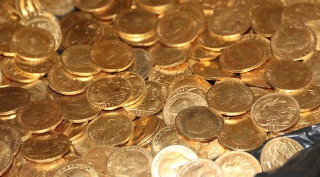 Otel odasında altın olduğu düşünülen para bulundu
