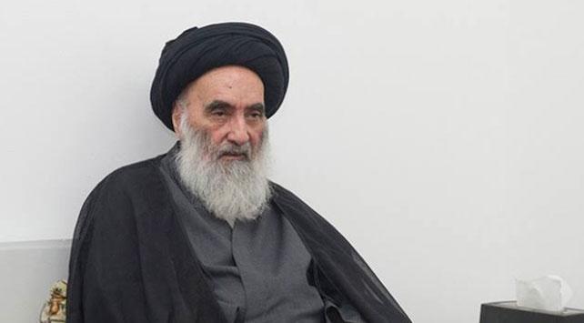 """Irakta Şii dini merci Sistaniden """"erken seçim"""" çağrısı"""