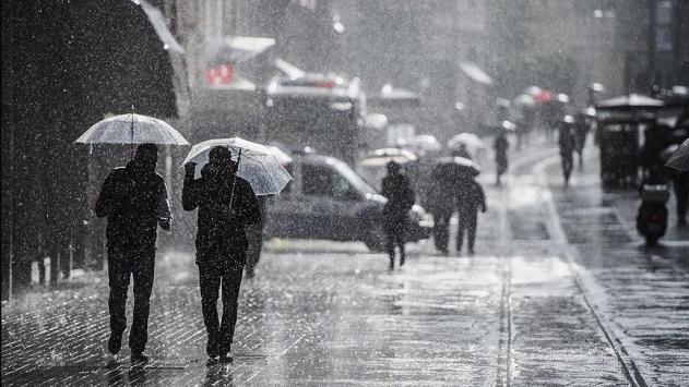 Marmara Bölgesinde kuvvetli yağış uyarısı