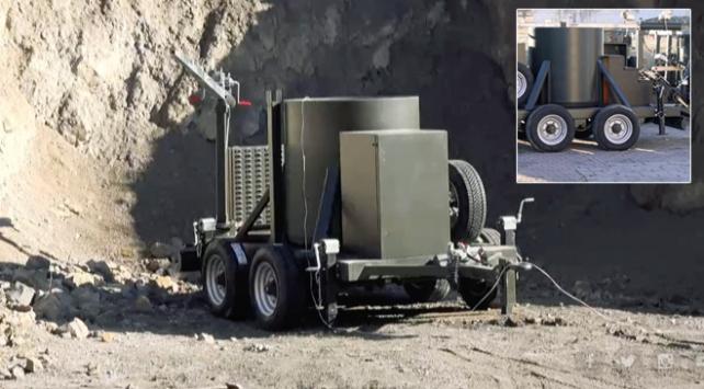 Yerli bomba imha kazanları testleri başarıyla geçti