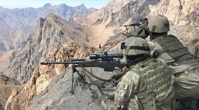 Irakın kuzeyinde 2 PKKlı terörist etkisiz hale getirildi