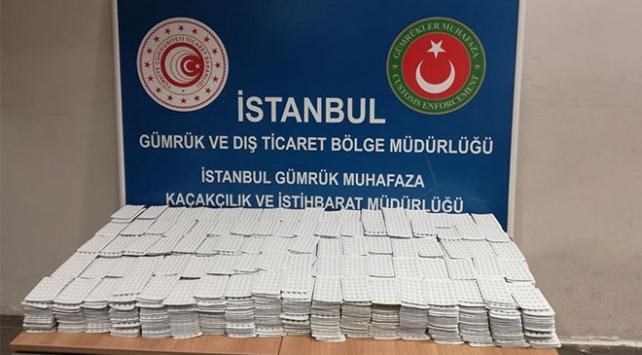 İstanbul havalimanlarında operasyon: 123 bin 610 adet kaçak ilaç ele geçirildi