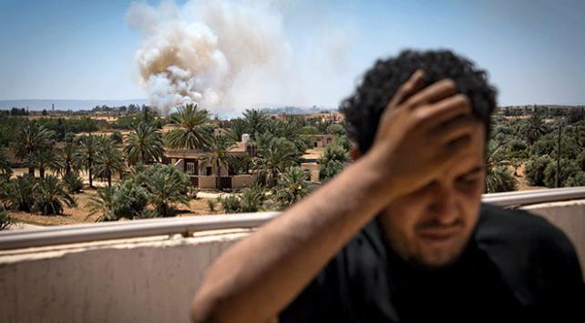 Libyada Hafter destekçisi BAEnin SİHA saldırılarında 3 kişi öldü