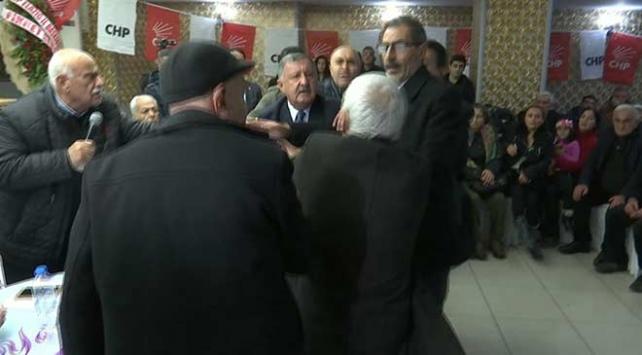 Elazığda CHP kongresinde gerginlik
