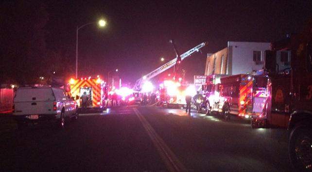 Las Vegasta motelde yangın: 6 ölü, 13 yaralı