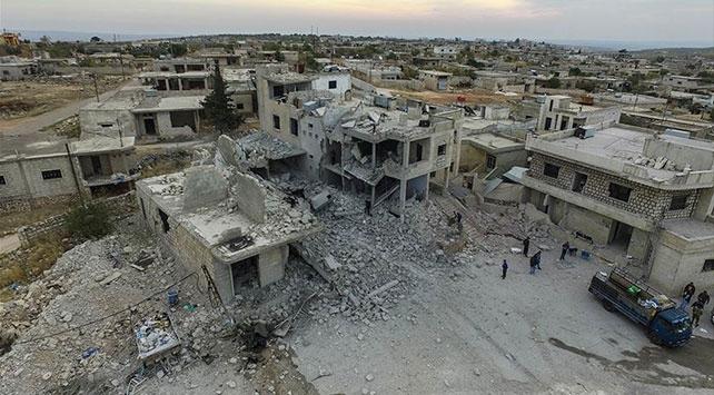 Esed rejimi İdlib Gerginliği Azaltma Bölgesinde 6 yerleşimi daha ele geçirdi