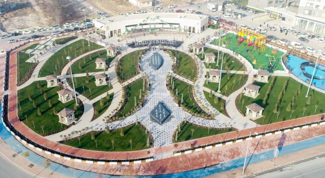 Konyada Yenice Parkı ve Yenice Parkı Kafe Meramın yapımı tamamlandı