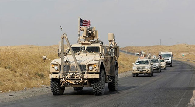 ABDden Suriyenin doğusundaki petrol sahasına sevkiyat