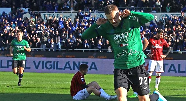 Atalanta Milanı 5-0 yendi