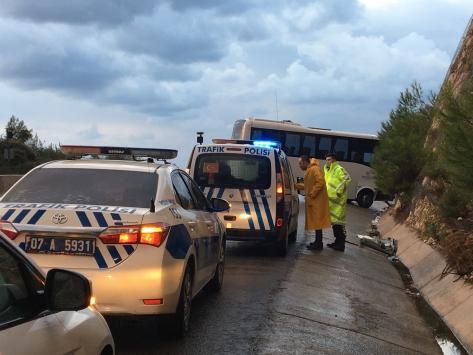 Antalyada trafik kazası: 17 yaralı