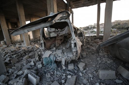 Rusyanın İdlibe saldırılarında 9 sivil öldü