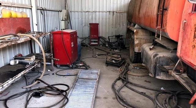 Adanada akaryakıt istasyonuna kaçakçılık operasyonu: 2 gözaltı