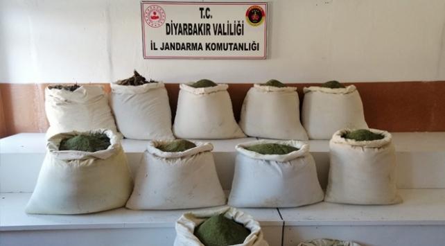 Diyarbakırda 456 kilogram esrar ele geçirildi