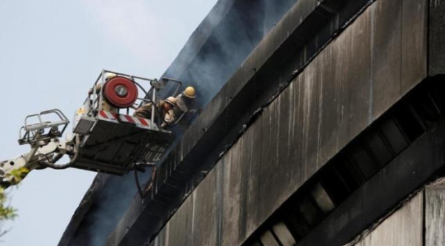 Hindistanda depoda yangın: 9 ölü, 3 yaralı