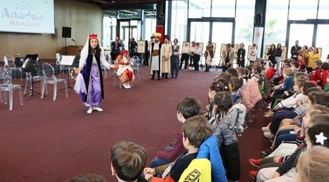 Minik öğrenciler Anadolu masallarıyla buluşuyor